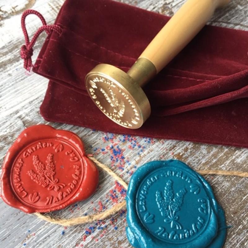 Сургучные печати для флористов на заказ