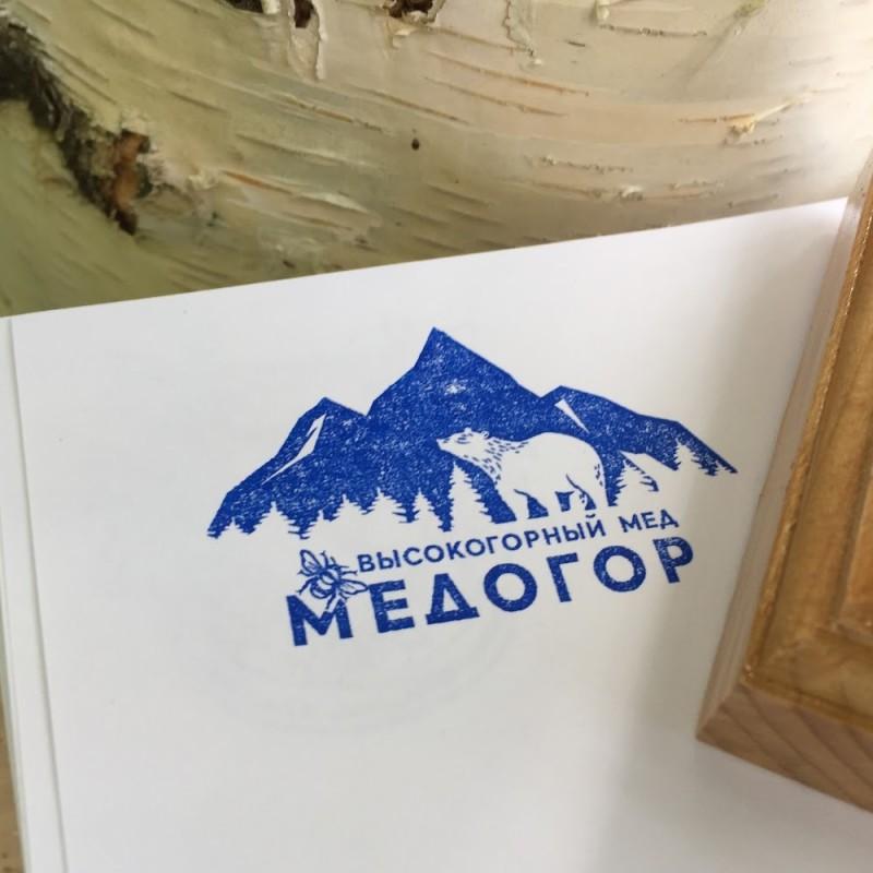 Печать пчеловодческой фермы