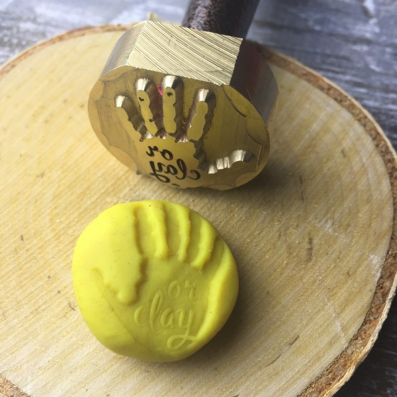 Штамп для глины из металла