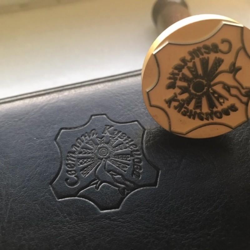 Пример печати кожевенного мастера