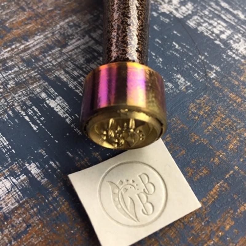 Штамп из металла для тиснения кожи