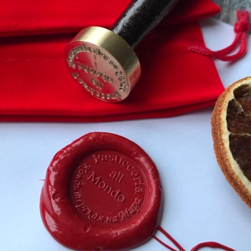 Печать пастичерии с логотипом