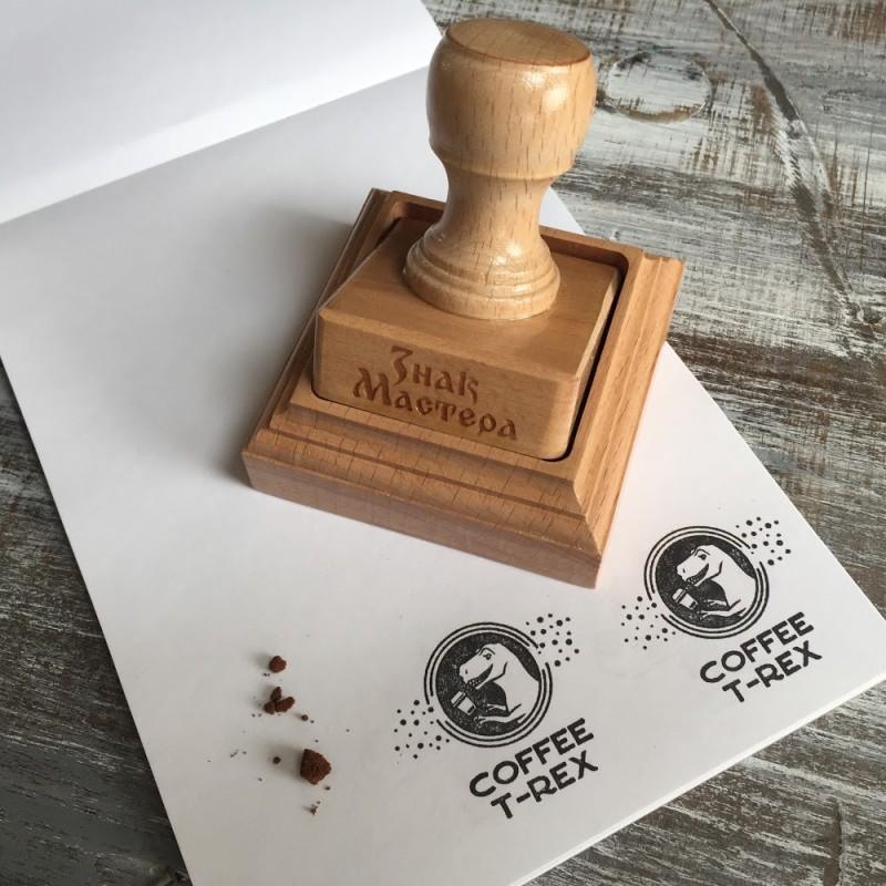 Печать с логотипом кофейни