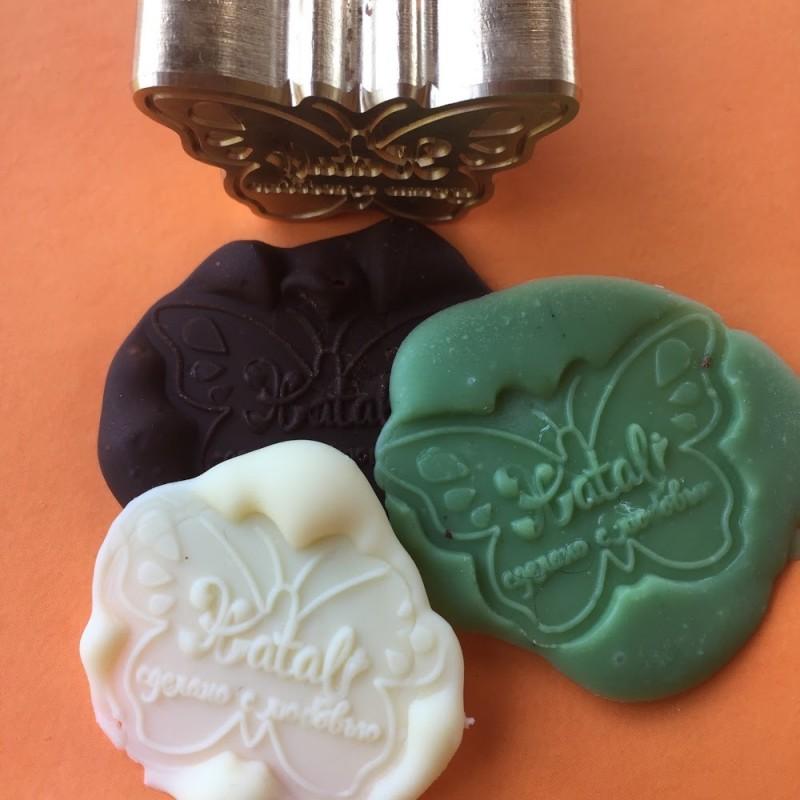 Печать кондитера для оттисков на шоколаде