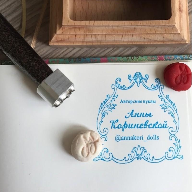 Печать для полимерной глины Анны Кореневской