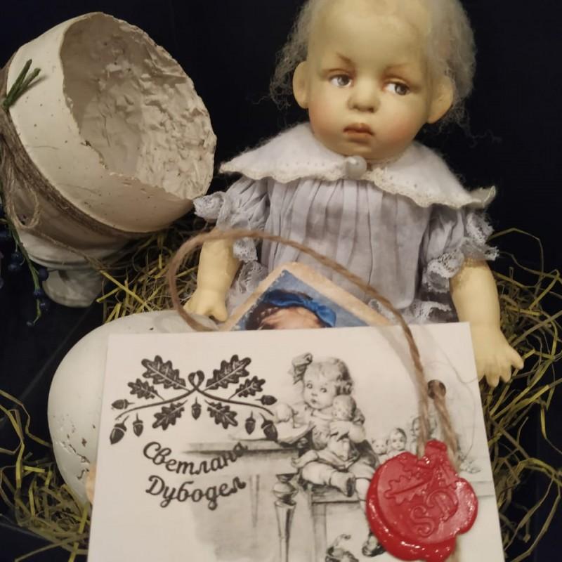 Печати для оформления этикетки для куклы