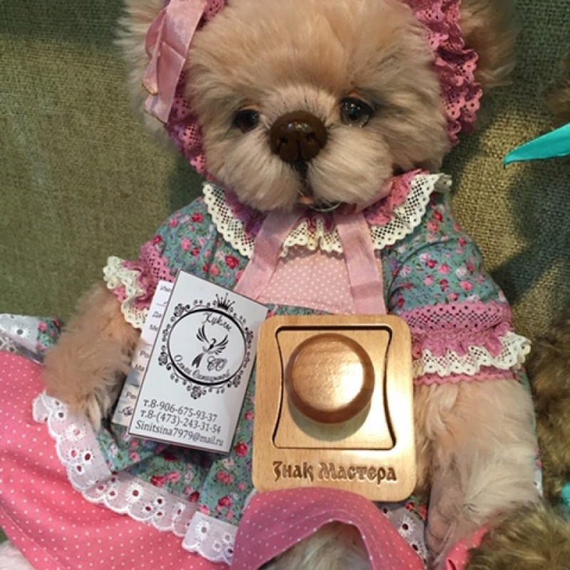 Печать мастера кукольника Ольги Синицыной