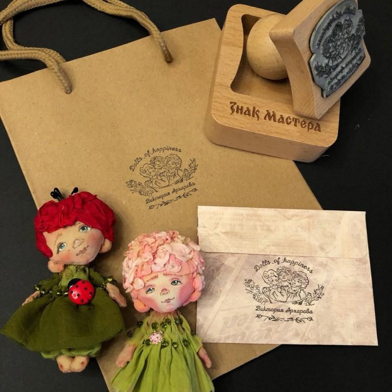 Печать кукольного мастера Виктории Архаровой