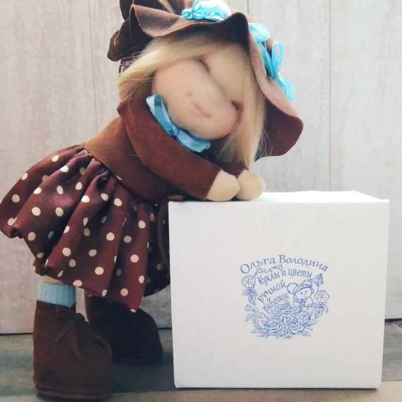 Печать мастера кукольника Ольги Володиной