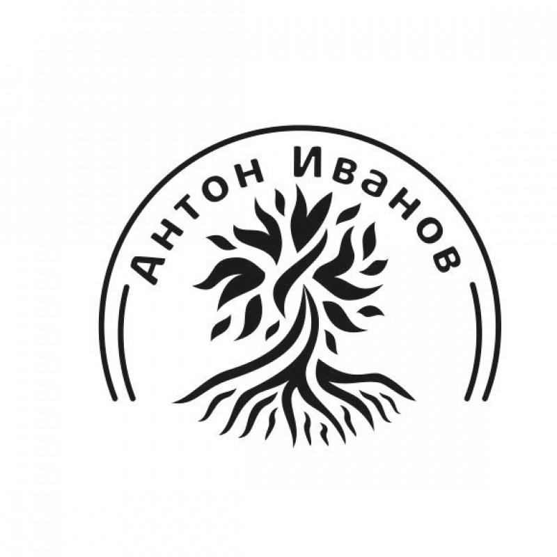 Макет штампа с логотипом мебельщика