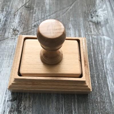 Печать с коробочкой 70 на 50 мм (без гравировки)