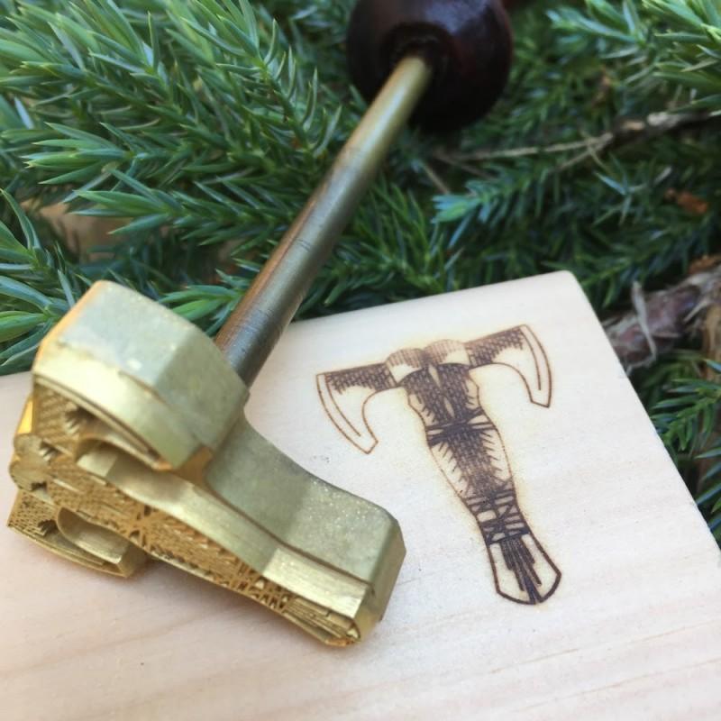Термоштамп плотника для выжигания на дереве