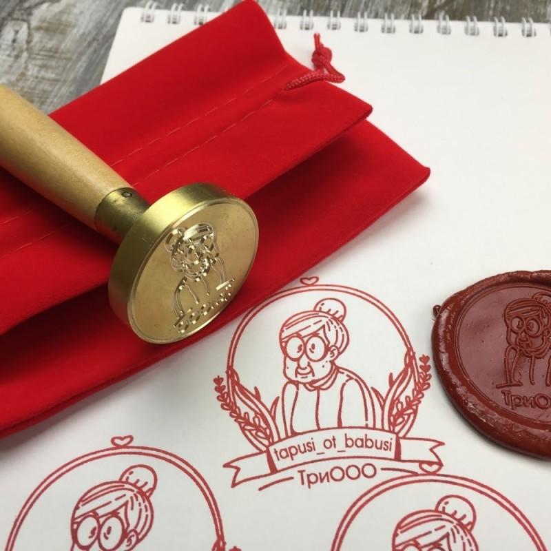 Сургучная печать для hand made изделий