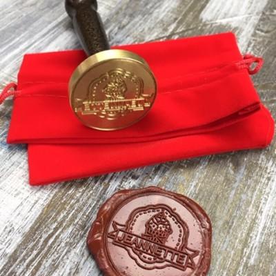 Сургучные печати с логотипом