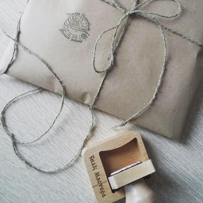 Печать на упаковку для вязаных изделий